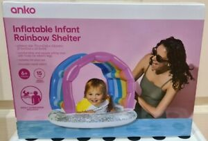 Inflatable Infant Rainbow Shelter (up to 15kg) NEW IN Box
