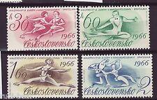 CSSR Tschechoslowakei Nr. 1592-95 **  Sport Eiskunstlauf