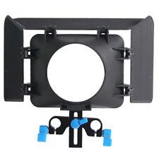 Cámaras Dslr Video Caja Mate Para Sistema De Carril Varilla Soporte 15 mm enfoque de seguimiento