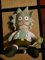"Rick 10"" Plush - From Rick and Morty - Official License Toy Factory NWT"