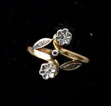 Magnifico Anello Oro 18 Carati - Diamanti 0.05 Carat