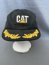 Vintage CAT Snapback Hat Tonkin Made In USA