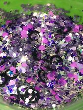 'Violet Rush' Glitter Mix Plus Free Gift!*1tsp* For Acrylic/Gel/Polish