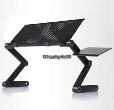 Portable Foldable Adjustable Laptop Table Stand Holder Tray Notebook Desk E