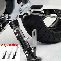Black &Titanium CNC Motorcycle Anti-falling Side Stand Tripod Holder Protector