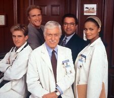 Diagnosis Murder UNSIGNED photo - 644 - Charlie Schlatter and Barry Van Dyke