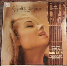 """BOB BAIN """"Guitar de Amor"""" Vinyl Record LP Capitol Records T1500"""