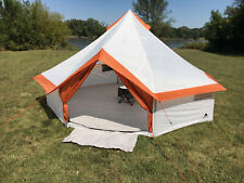 Yurt 8-Person Camping Tent W/ Large Easy-Access Entryway Outdoor Hiking Big Camp
