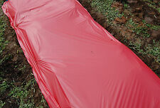 Red Plastic Mulch 1.0 mil Embossed 4 ft x 50 ft Tomato Eggplant Peppers Weed