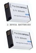 2 BP-85A EA-BP85A Batteries for Samsung PL210 PL211 ST200 ST201 ST205 ST205F