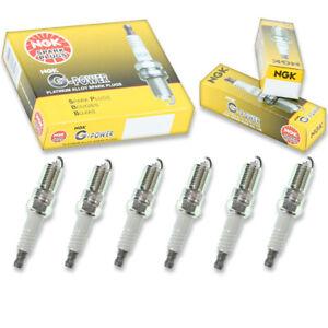 6 pcs NGK G-Power Spark Plugs for 1996-1998 Chevrolet C1500 4.3L V6 - Engine pj