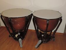 "Pair of Ludwig Timpani Tympani Drums 26"" and 29"" New Heads"