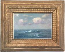 Seascape antique marine peinture à l'huile par Alexander Maclean R.B.A. (1867-1940)