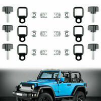 Hard top Cover Quick Removal Screw Washer Fastener Nuts Bolts For Jeep JK