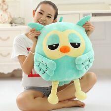 50CM Big plush Blue Owl Cute Giant Large Stuffed Soft Plush Toy Doll Pillow Gift