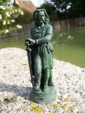 RE0034  FIGURINE STATUETTE REPRODUCTION VERCINGETORIX GAULOIS DE MILLET ALESIA