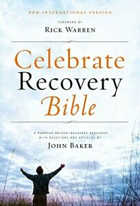 Celebrate Recovery Bible-NIV by Baker  John Book The Fast Free Shipping