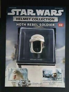 "Star Wars Helmet ""Hoth Rebel Soldier"" Issue 32 ""Deagostini"" Collection"