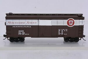 Mantua Heavies HO Scale 40' PRR Merchandise Service Steel Box Car PRR 65424