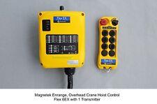 Magnetek Flex 6EX  Gen1 Overhead Crane Hoist Radio Remote Control system w/ 1-TX