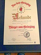 Reb-/Weinstock u. 1 qm Weingarten in Grinzing/Wien, Jahresertrag 2/4 L Wein!