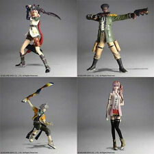 """*NEW IN BOX* Final Fantasy XIII Trading Arts 4 5"""" Figure Action Set"""