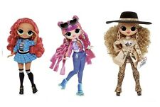 Set of 3 LOL Surprise OMG Fashion Doll Series 3 ROLLER CHICK DA BOSS CLASS PREZ!