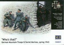MAS3571 - Masterbox 1:35 - Who`s That? German Troops & Soviet Marines