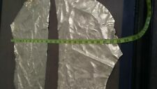 "Italian Top quality Lambskin leather hide  Foil metallic Gold "" 2 Pieces"" ,1 oz."