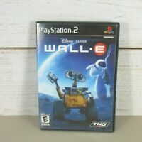 WALL-E (Sony PlayStation 2, 2007) PS2 Disney Pixar Video Game Tested Working