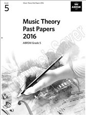 ABRSM Music Theory Past Papers 2016 Grade 5 - Same Day P+P