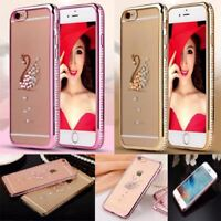 ULTRA THIN CLEAR SILICONE SOFT GEL CASE COVER SCREEN FOR IPHONE 5 5s 6 6s Plus