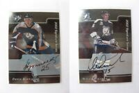 2001-02 BaP Signature Series #248 Alexeev Nikita  autograph  lightnings #2