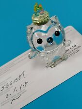 Swarovski Original Figurine Hoot the Owl: Happy Birthday New 5301581
