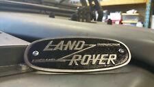 Cast Badge for Land Rover Series 1 2 Cast Aluminium OEM Birmingham 332670