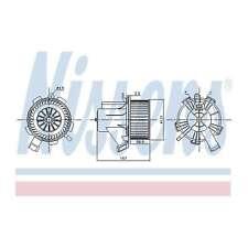 Fits Smart Fortwo 451 1.0 Brabus Nissens Interior Heater Blower Motor Fan