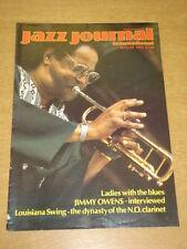 JAZZ JOURNAL INTERNATIONAL VOL 39 #8 1986 AUGUST JIMMY OWENS LOUISANA SWING