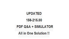 CHECK POINT CERTIFIED SECURITY ADMINISTRATOR R80 156-215.80 Exam QA PDF&SIM