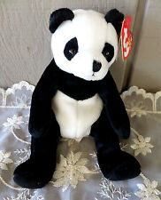 Ty Beanie Baby Mandy Panda Bear July 18 2003 Pellet Filled w/ Tag Retired Babies