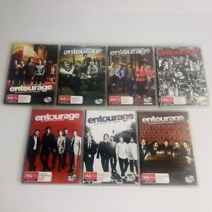 Entourage TV Series Seasons 1 2 3 4 5 6 Adrian Grenier Mark Wahlberg 2004 - 2009