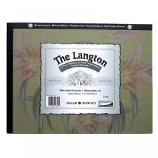 Daler ROWNEY LANGTON WATERCOLOUR PAD-HP-Smooth pressato a caldo 10x7 Copertura Verde