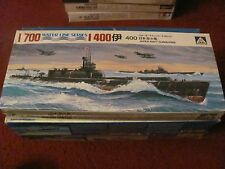 Aoshima Japan Navy Submarine kit UNASSEMBLED