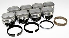 "Sealed Power Chevy 350 4.030"" .275 Domed Pistons & Moly Rings Kit SBC H617CP30"