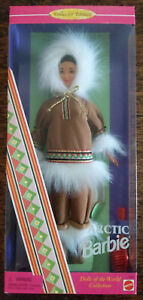 BARBIE COLLECTOR EDITION ARCTIC BARBIE DOLLS OF THE WORLD