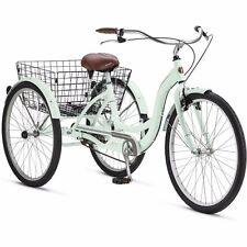 Schwinn Adult Tricycle 3 Wheel Bicycle Bike Three Wheeler Basket Beach Cruiser