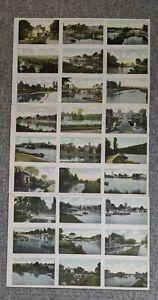 Original vintage 27 POSTCARD samples HENLEY nr READING MAIDENHEAD WINDSOR GORING