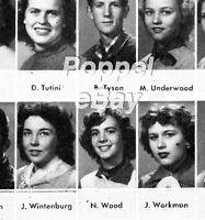 ROBERT REDFORD DON DRYSDALE NATALIE WOOD High School Yearbook