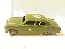 Dinky Supertoys Ford Sedan Mmilitary Car # 1703 Mecanno Diecast