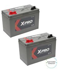 2x12V 110AH (C100) XV31MF ultradeepcycle ocio Numax Batería Reemplazo de X-Pro