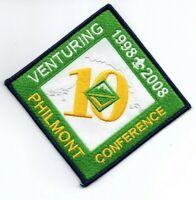 Boy Scout Philmont Training Conferences 2008 Venturing Patch Blue Border